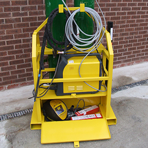Weld Safe Machine Pallet